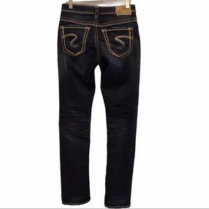Silver Jeans Suki high straight women's denim 27